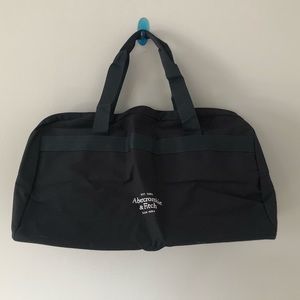 Abercrombie & Fitch   Large Navy Duffle